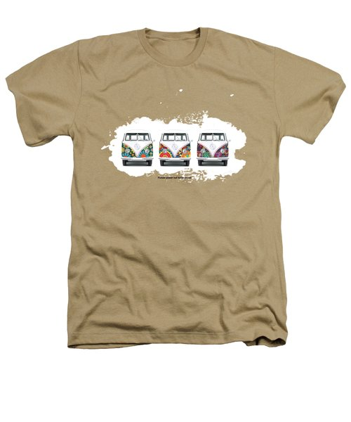 Flower Power Vw Heathers T-Shirt