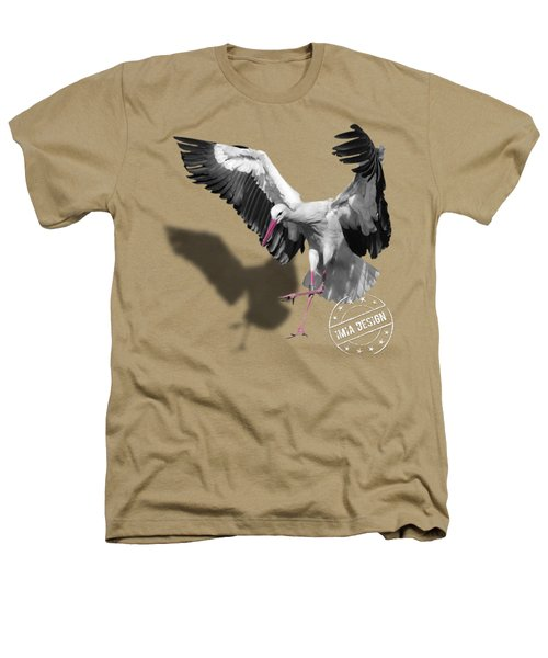 Flying Stork No 01 Heathers T-Shirt