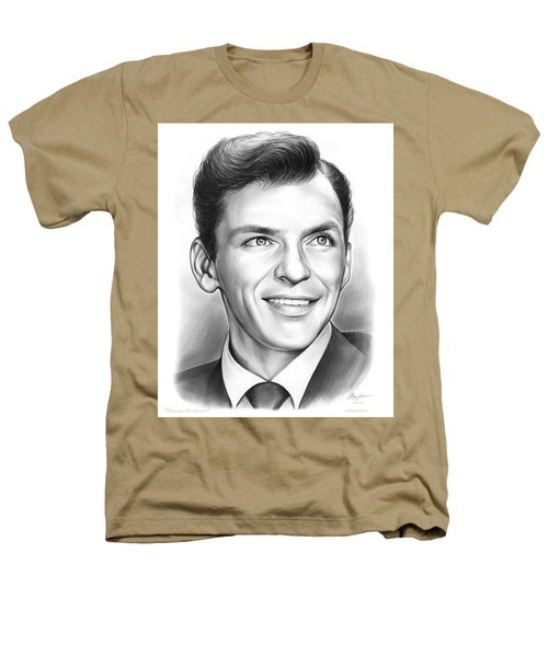 Frank Sinatra Heathers T-Shirt by Greg Joens