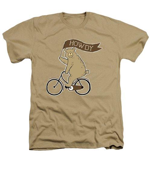 Friendly Neighborhood Bear Heathers T-Shirt