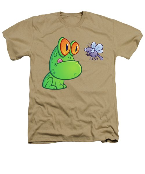 Frog And Dragonfly Heathers T-Shirt