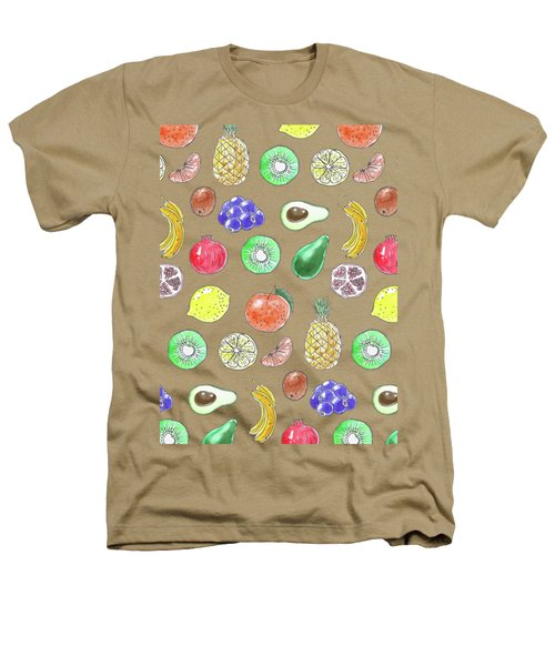 Fruit Pattern  Heathers T-Shirt by Katerina Kirilova