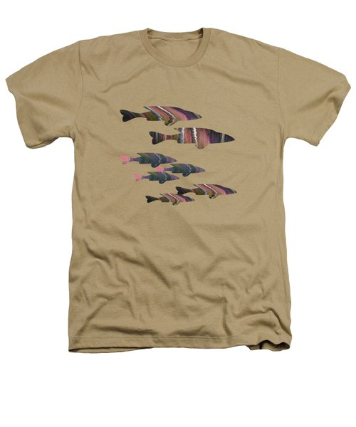 Fuchsia Fish Heathers T-Shirt