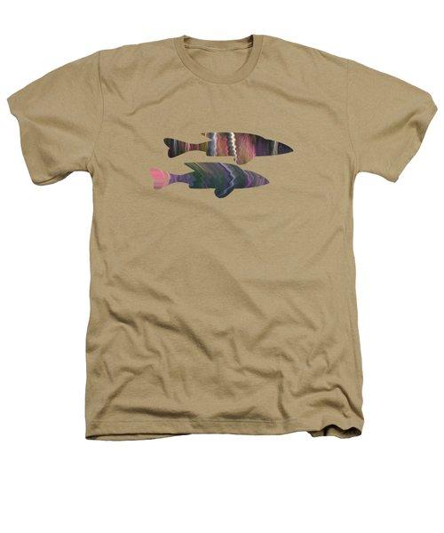 Fuchsia Fuchsia Heathers T-Shirt