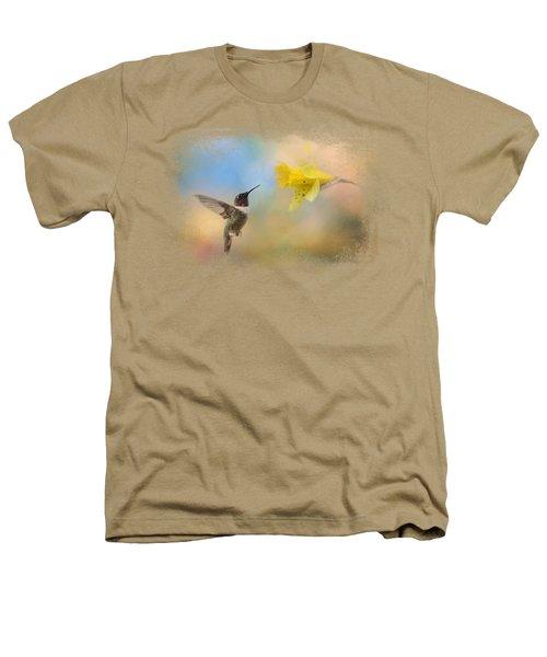 Garden Visitor Heathers T-Shirt