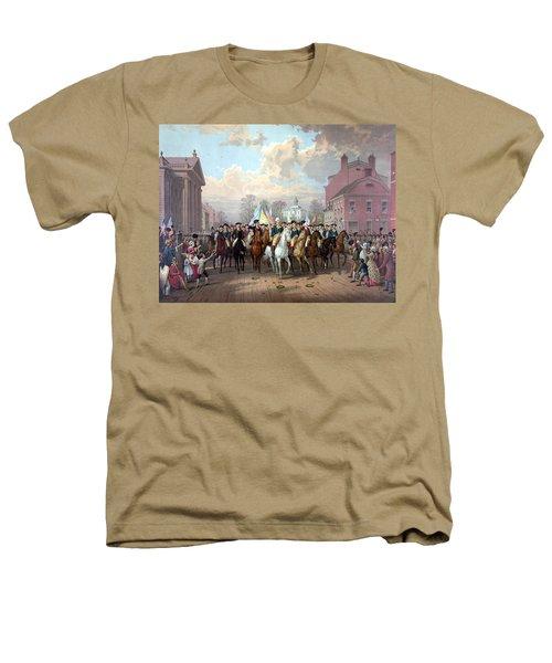 General Washington Enters New York Heathers T-Shirt