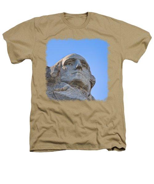 George Washington 3 Heathers T-Shirt by John M Bailey