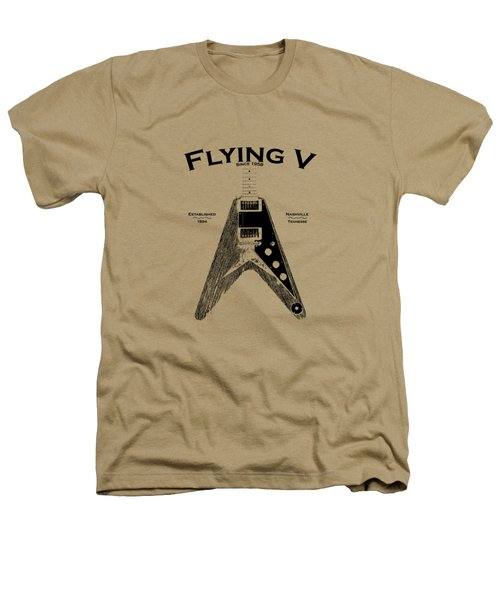 Gibson Flying V Heathers T-Shirt