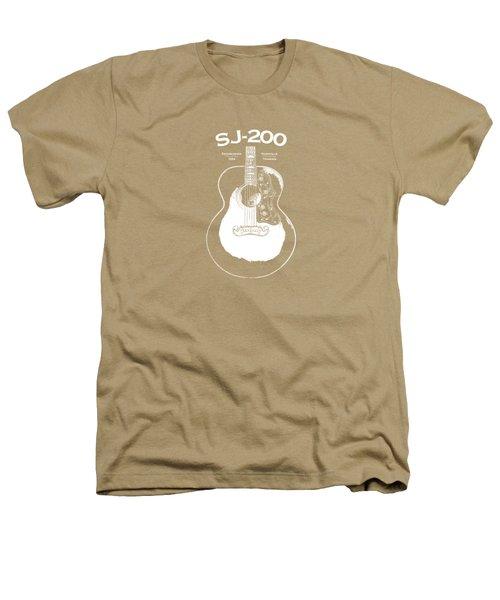 Gibson Sj-200 1948 Heathers T-Shirt by Mark Rogan