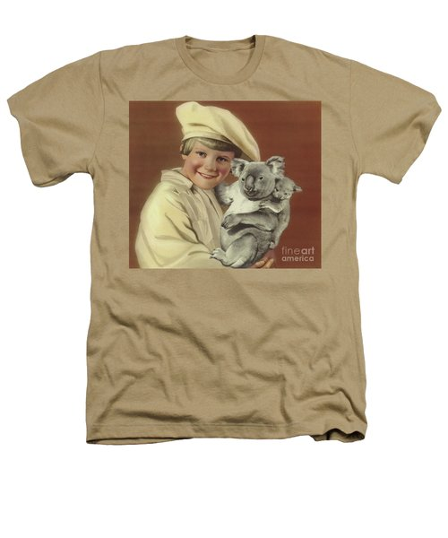 Girl With Koala And Its Baby Heathers T-Shirt