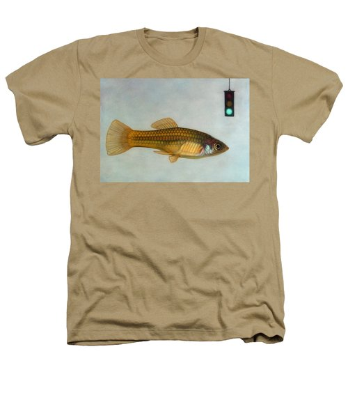 Go Fish Heathers T-Shirt by James W Johnson