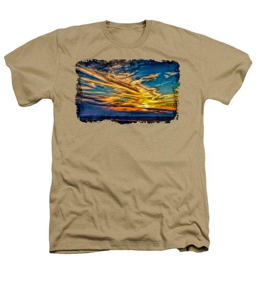 Golden Evening 2 Heathers T-Shirt by John M Bailey