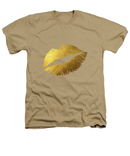 Gold Lips Heathers T-Shirt by BONB Creative