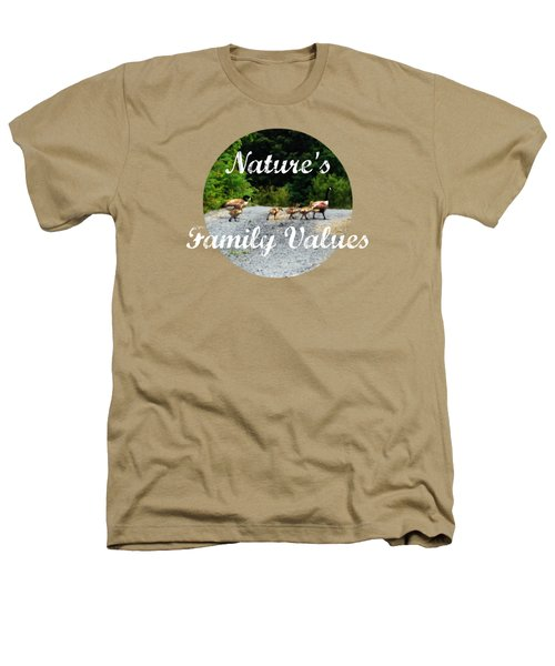 Goose Family Heathers T-Shirt