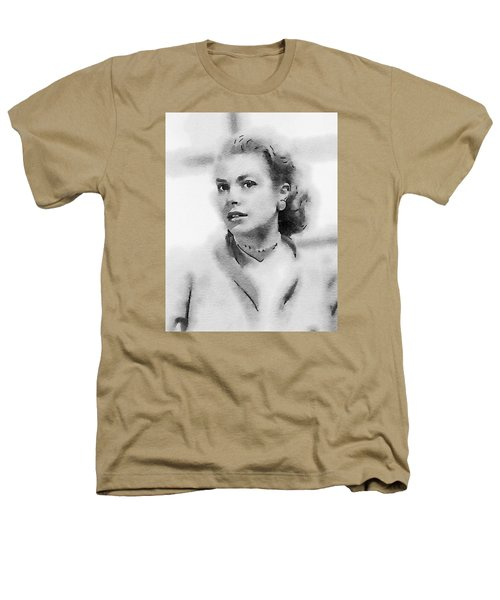 Grace Kelly By John Springfield Heathers T-Shirt by John Springfield
