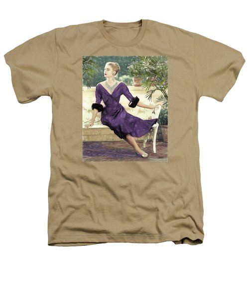 Grace Kelly Draw Heathers T-Shirt by Quim Abella