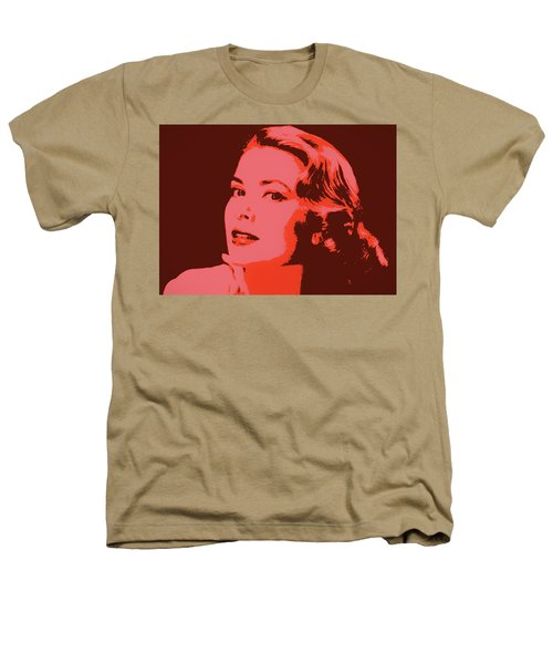 Grace Kelly Pop Art Heathers T-Shirt by Dan Sproul