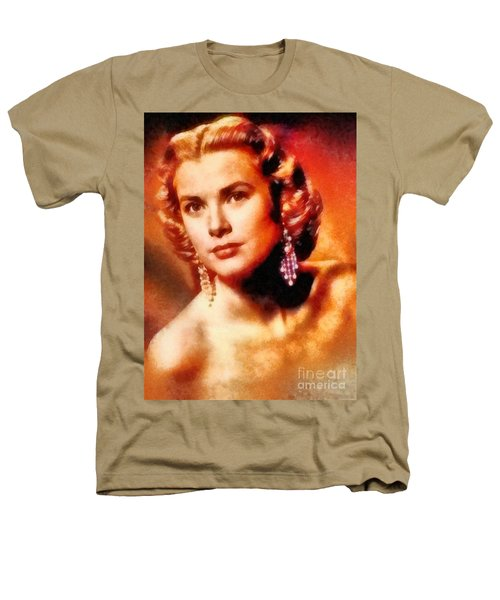 Grace Kelly, Vintage Hollywood Actress Heathers T-Shirt by Frank Falcon