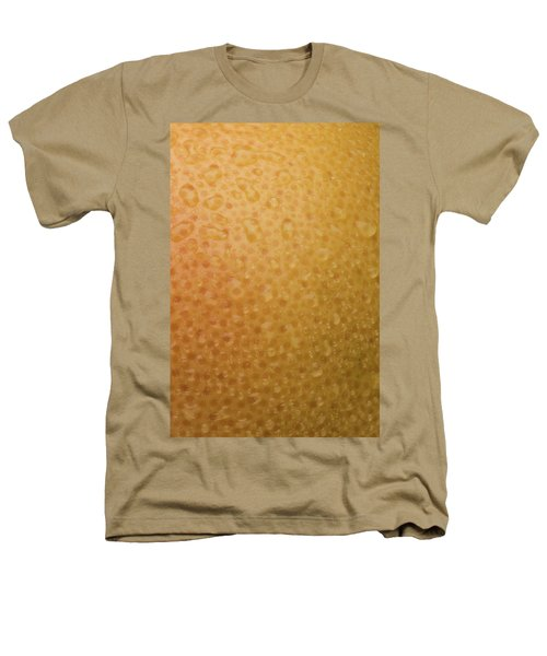 Grapefruit Skin Heathers T-Shirt by Steve Gadomski