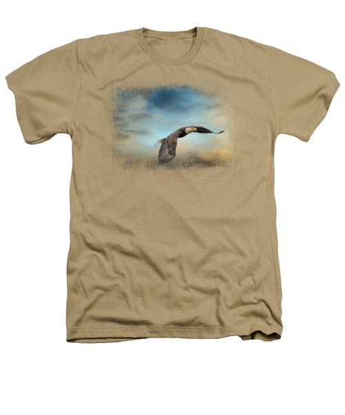 Grass Before The Storm Heathers T-Shirt by Jai Johnson