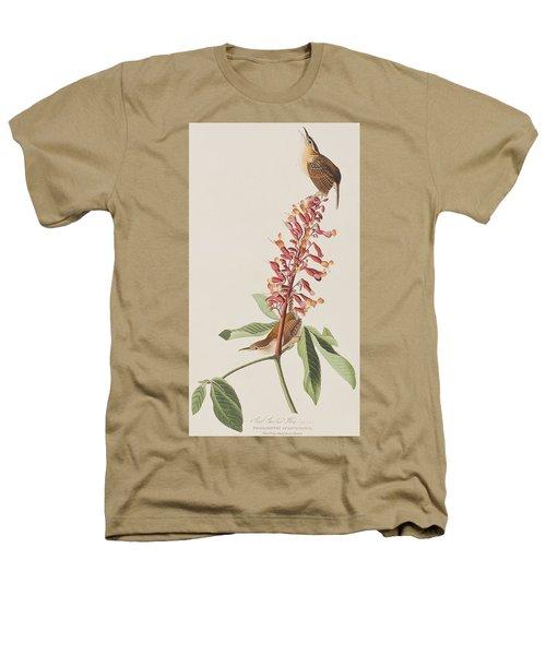 Great Carolina Wren Heathers T-Shirt by John James Audubon