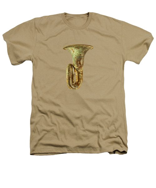 Green Horn Up Heathers T-Shirt by YoPedro
