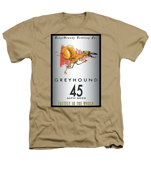 Greyhound 45 Mph Beer Heathers T-Shirt
