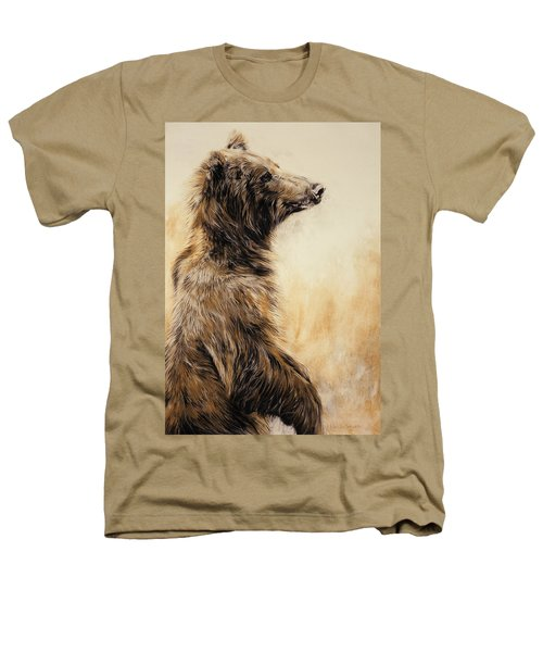 Grizzly Bear 2 Heathers T-Shirt