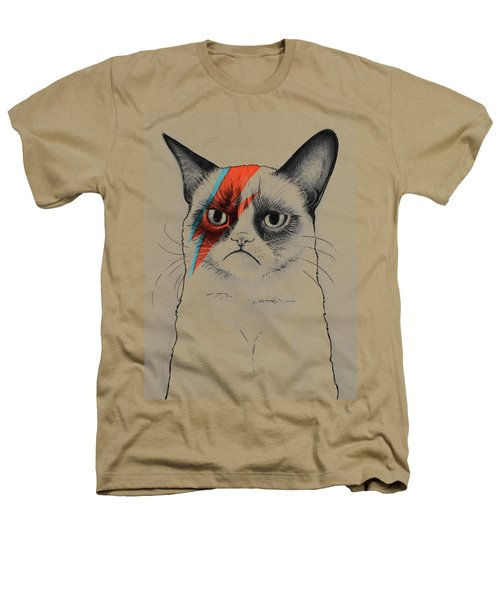 Grumpy Cat As David Bowie Heathers T-Shirt