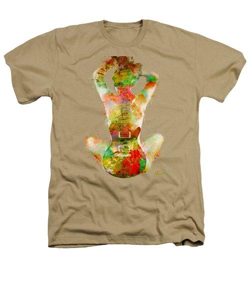 Guitar Siren Heathers T-Shirt by Nikki Smith