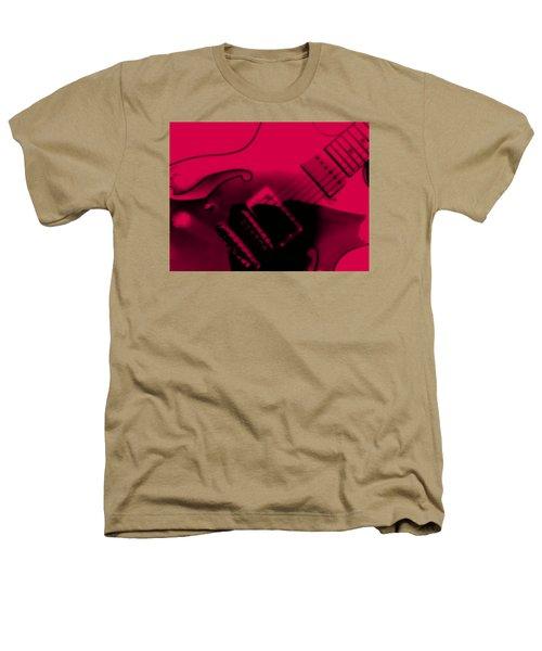 Guitar Watermelon Heathers T-Shirt by Darin Baker