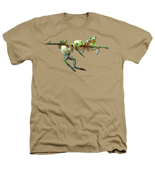 Hang In There Froggies Heathers T-Shirt