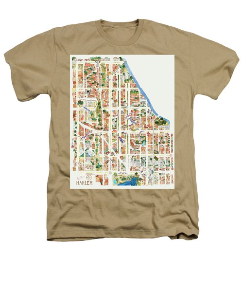 Harlem From 110-155th Streets Heathers T-Shirt by Afinelyne