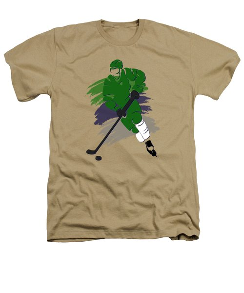 Hartford Whalers Player Shirt Heathers T-Shirt by Joe Hamilton