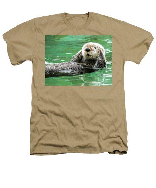 Hear No Evil Heathers T-Shirt by Mike Dawson