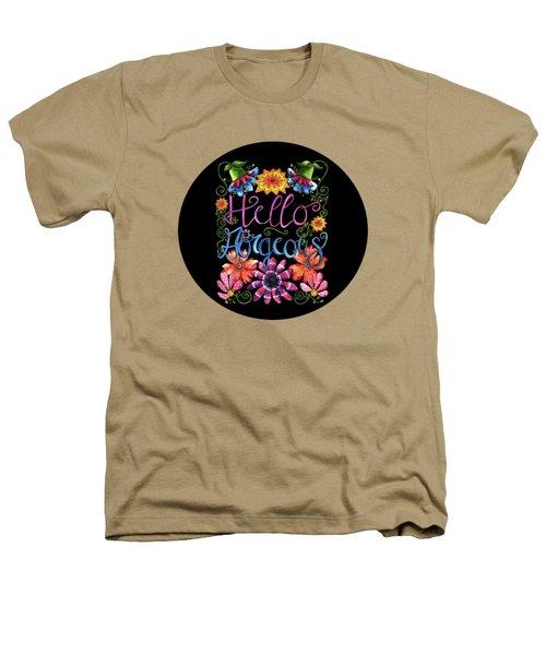 Hello Gorgeous Black  Heathers T-Shirt