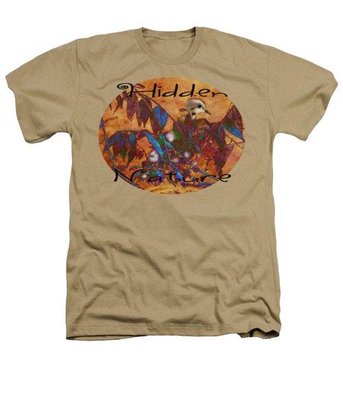 Hidden Nature - Abstract Heathers T-Shirt by Anita Faye