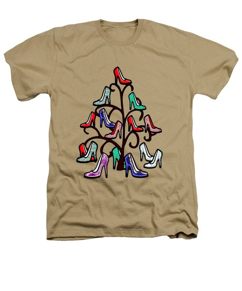 High Heels Tree Heathers T-Shirt by Anastasiya Malakhova