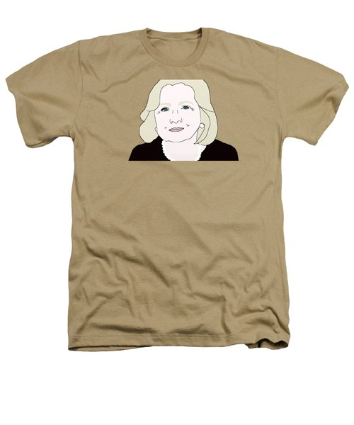 Hillary Clinton Heathers T-Shirt by Priscilla Wolfe