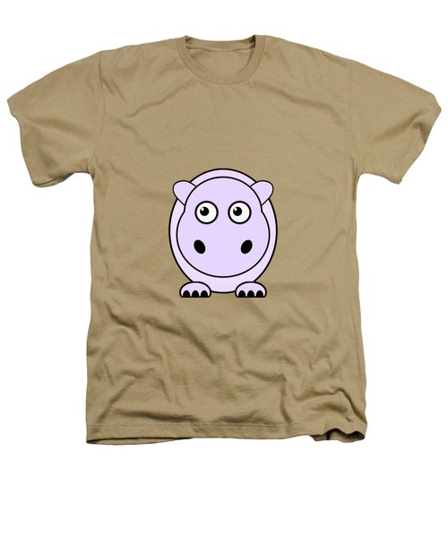 Hippo - Animals - Art For Kids Heathers T-Shirt