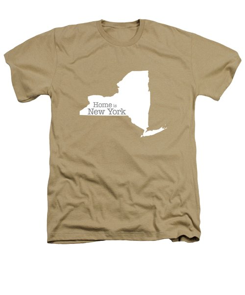Home Is New York Heathers T-Shirt by Bruce Stanfield