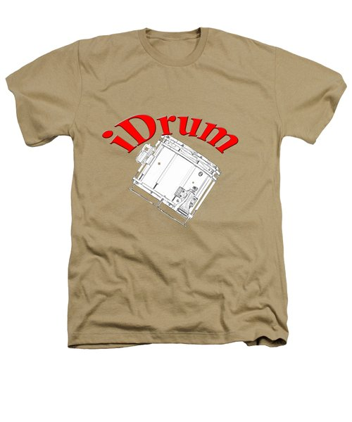 iDrum Heathers T-Shirt by M K  Miller