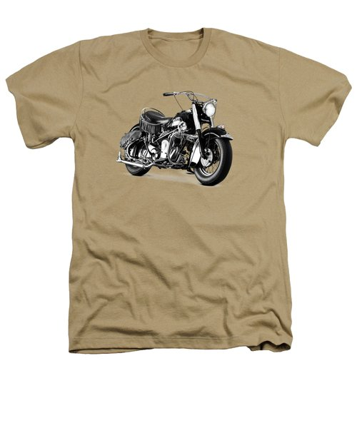 Indian Chief Roadmaster 1953 Heathers T-Shirt by Mark Rogan