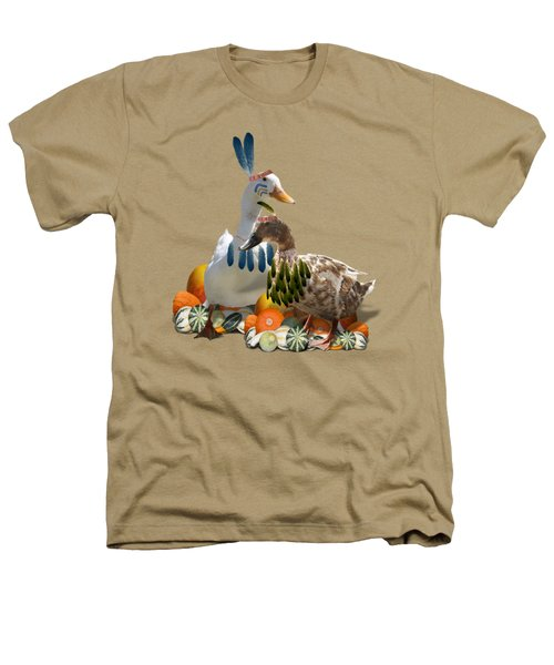 Indian Ducks Heathers T-Shirt by Gravityx9 Designs