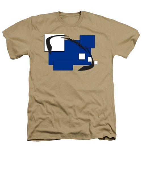 Indianapolis Colts Abstract Shirt Heathers T-Shirt by Joe Hamilton