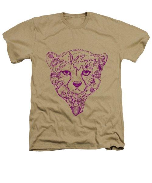 Iranian Cheetah Heathers T-Shirt by Adam Campbell