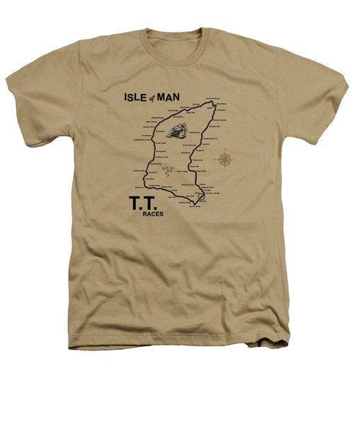 Isle Of Man Tt Heathers T-Shirt by Mark Rogan
