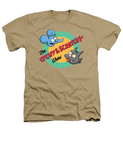 Itchy And Scratchy Heathers T-Shirt by Ian  King