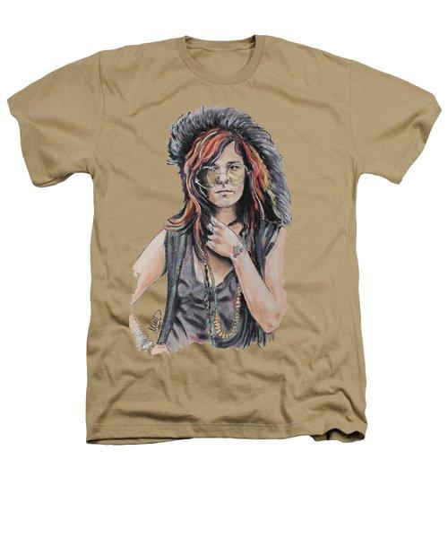 Janis Joplin Heathers T-Shirt by Melanie D