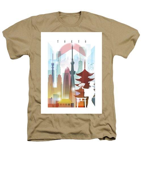 Japan Tokyo 2 Heathers T-Shirt